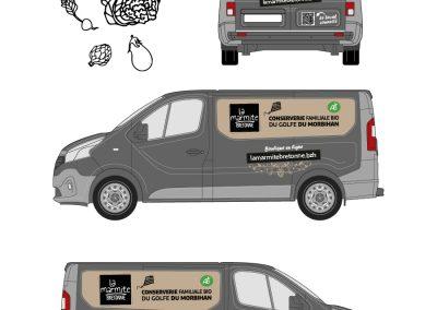 La Marmite Bretonne : Flocage véhicule